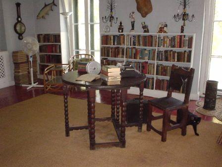 ヘミングウェイ書斎