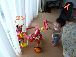 家三輪車2