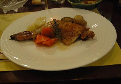肉料理(チキン)