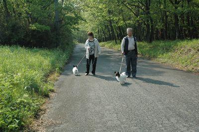 那須 2日目 朝の散歩