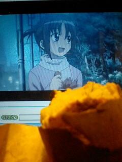 西沢さんと焼き芋