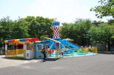 伊勢崎市 華蔵寺公園遊園地