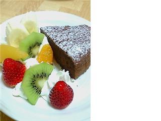 BDチョコレートケーキ