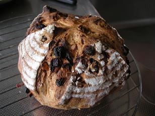 デコポン酵母でパン2種