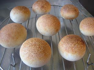 酵母を育ててみよう:パン作り後編 010