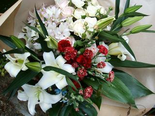 結婚36周年記念日の花束