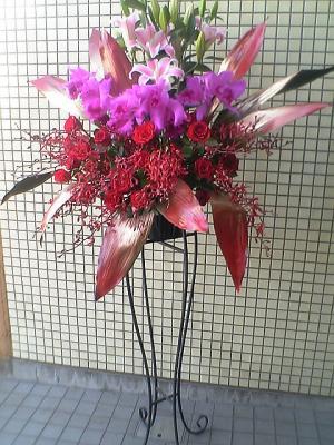 中国スタンド花