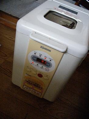 年代物パン焼き機
