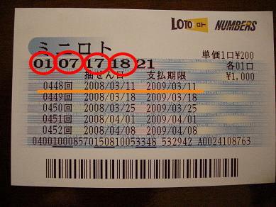3等賞!!