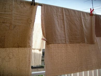 ★リネン★のカーテン?