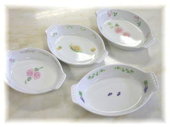 グラタン皿1200円