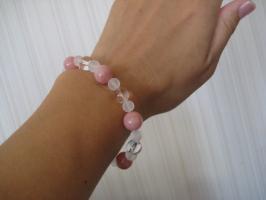 ピンクオパールのブレス2