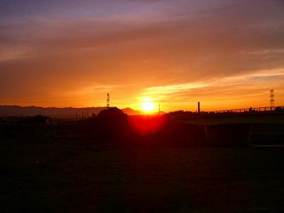 陽が沈む~