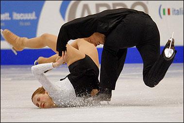 スケート失敗
