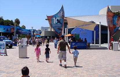 ロングビーチの水族館