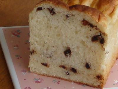 チョコチップのミニ食パン