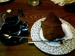 ダッチコーヒー&チョコシフォン
