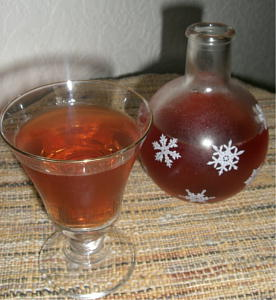 ブルベリーのお酒1