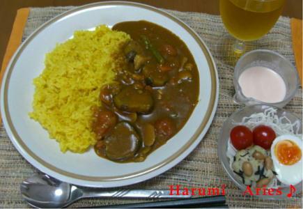 200626野菜カレー