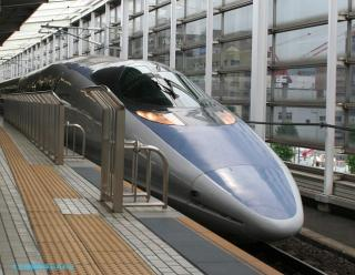 500系新幹線東京行きto博多行き