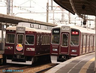 阪急 9300系 新方向幕 2