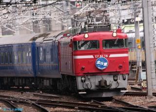 北斗星 上野駅到着 0303