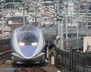 京都駅の新幹線500系 3