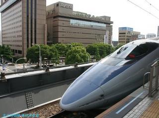 京都駅の新幹線500系 5