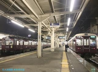 阪急電車梅雨の情景 7