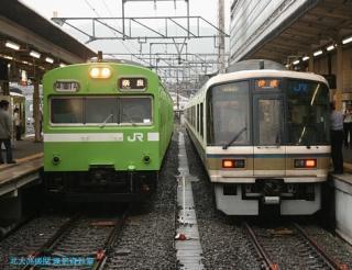 特急雷鳥 京都駅に到着 10