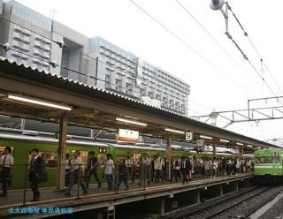特急雷鳥 京都駅に到着 12
