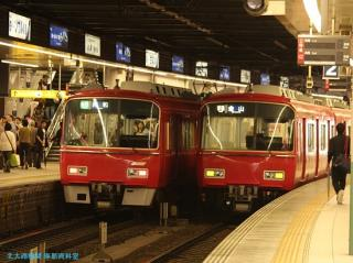 金山駅の名鉄電車 0531 4