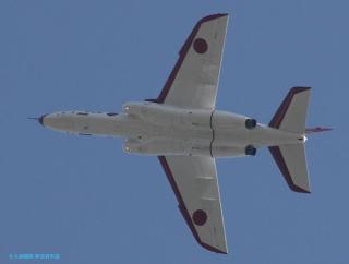 飛行開発実験団の航空機を見上げてみた 2