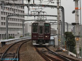 阪急微妙な方向幕 4
