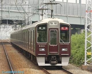 祇園祭ヘッドマークの6300系 2