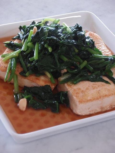 ステーキ豆腐