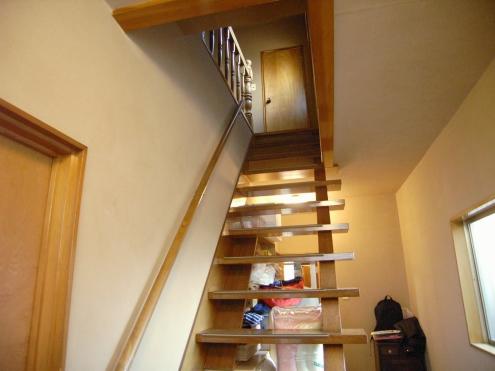 からすやま階段