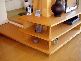 和室横の飾り棚