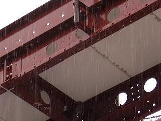 雨に濡れたヘーベル版