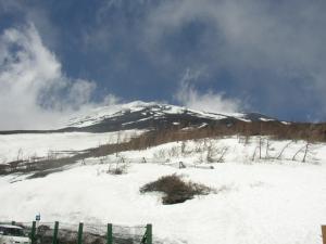富士山頂上?