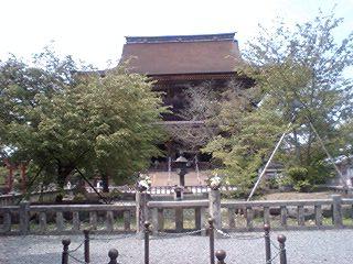 世界遺産、金峯山寺本堂