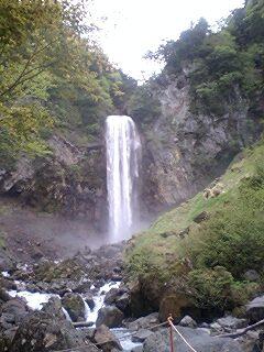 山奥の大滝