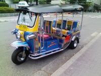 タイのタクシー?