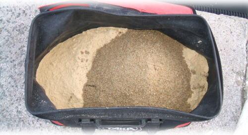 ベース(ヌカ10:砂3の割合で配合)