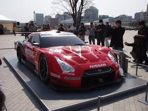 R35GT-R スーパーGT体制発表車