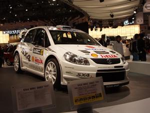 東京 スズキSX-4WRC