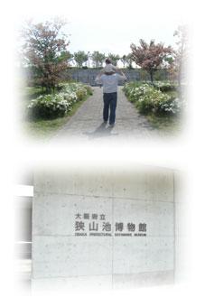 狭山池博物館の門