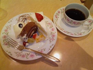 オークラのケーキ