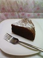 チョコケーキ1