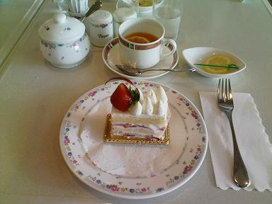 パレスホテルケーキ